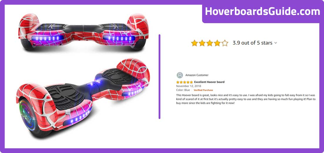 Cho hoverboard Spider Wheels series