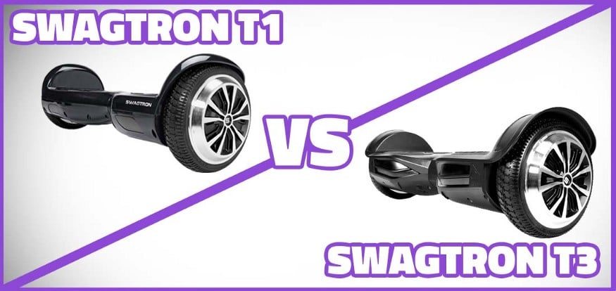 Swagtron T1 VS T3, Swagtron T1 VS T3 (Complete Review with Buying Guide)