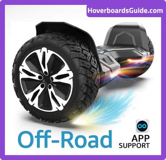 All-Terrain Halo Hoverboard