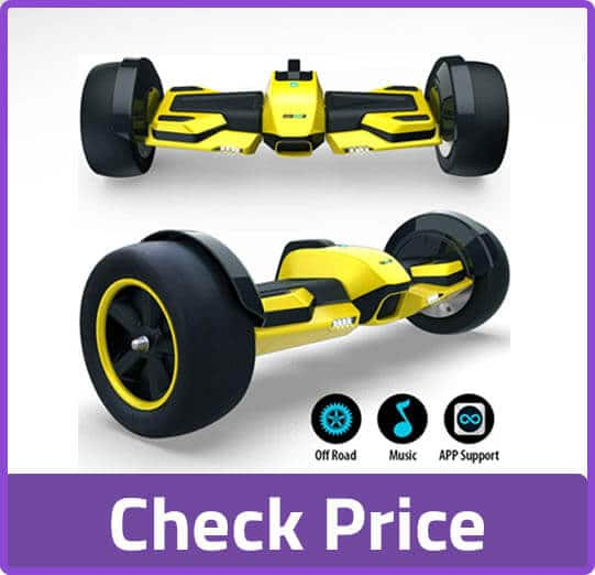 Gyroor yellow hoverboard
