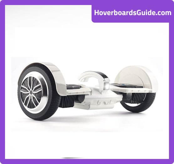Levit8ion All-terrain white hoverboard