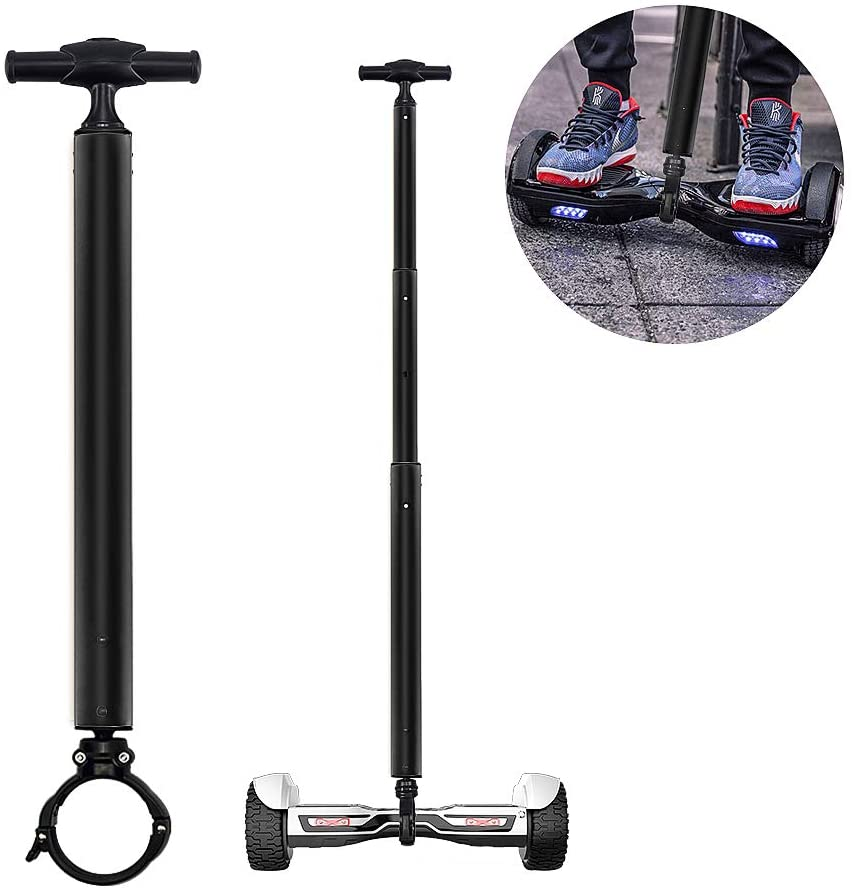 Locisne Stretchable Aluminum Alloy Balance Scooter Handle Bar for 6.5″,10″ Two Wheeled Scooter