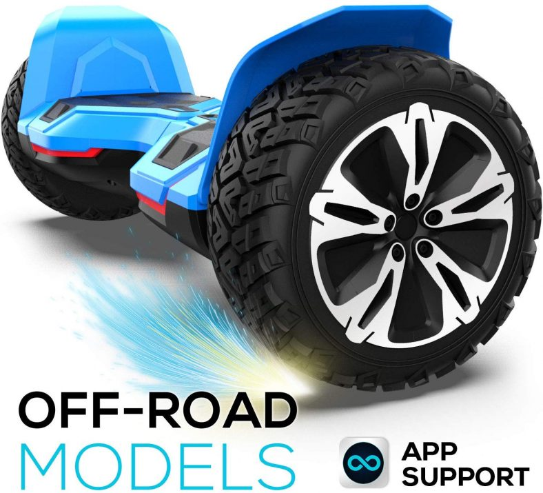 Hoverboard Off Road All Terrain Hoverboard with 8.5-inch Tires