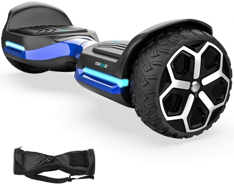 Magic hover 6.5″ inch All Terrain Off Road T581 Hoverboard, with Bluetooth Speaker
