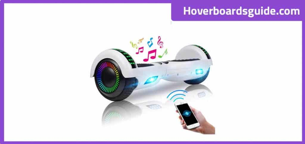 UNI-SUN 6.5 Inches Hoverboard – Best balancing hoverboard for kids!