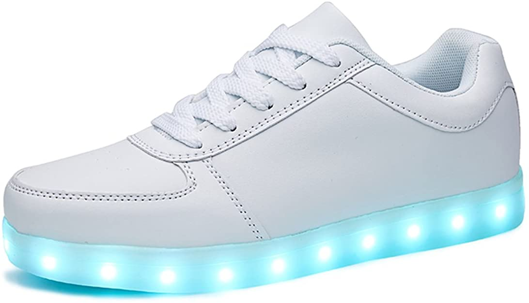 Sanyes USB-charging Light up hoverboard shoes