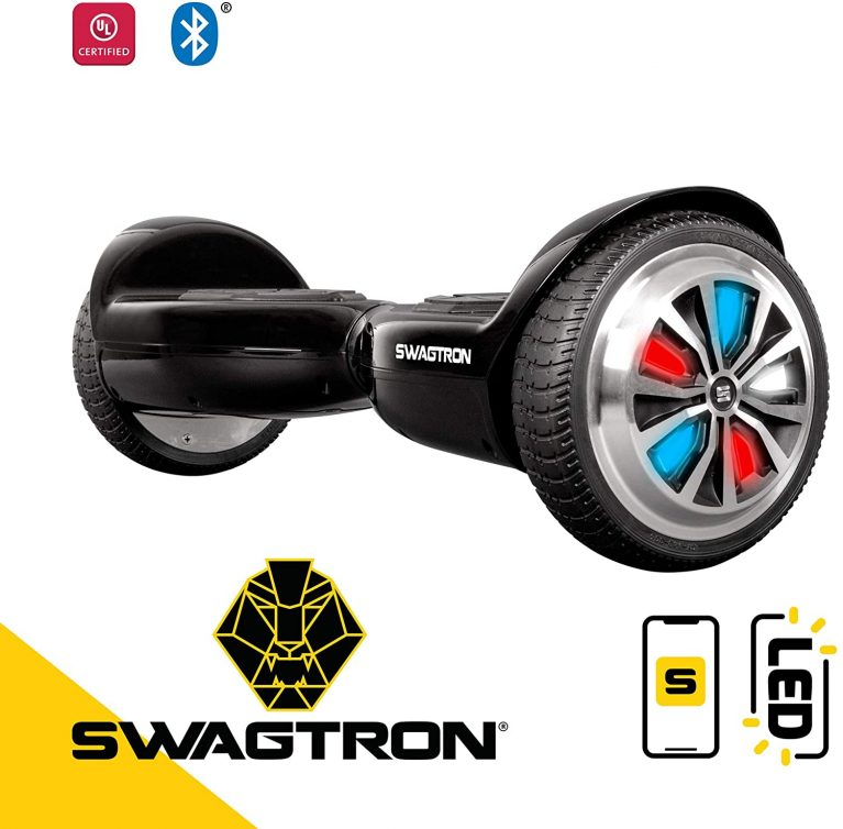 Swagtron T6 black hoverboard