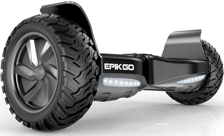 "Alloy Wheel All-Terrain Scooter Hover Board 8.5"" Self Balancing by EPIKGO - UL2272 Certified"