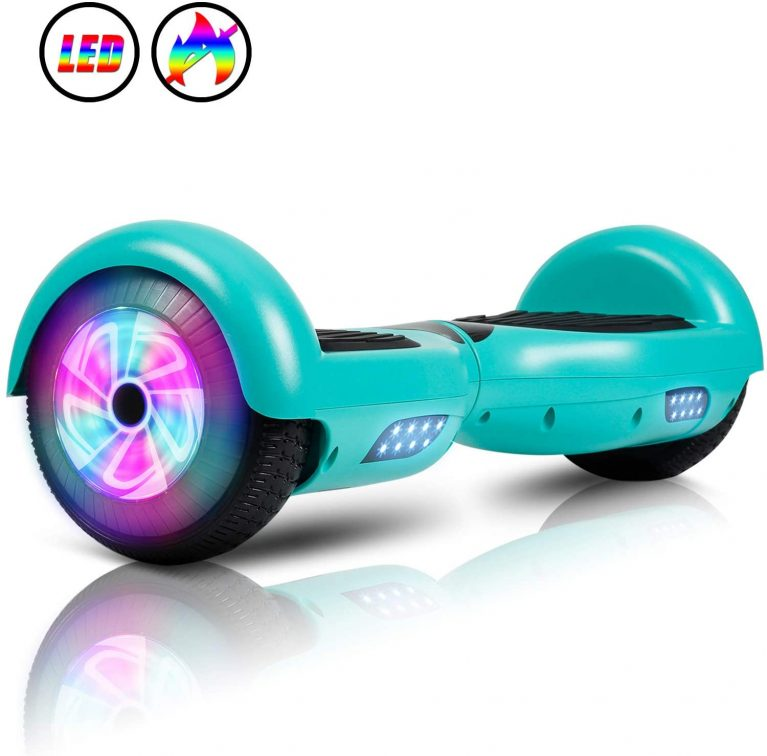 "Kids and Adults Scooter Hover Board 6.5"" Self Balancing by JOLEGE - UL2272 Certified"