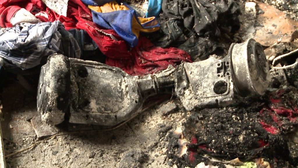 Louisiana - Home destroyed due to hoverboard catch fire
