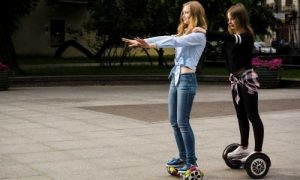 Let's Move On With Your Hoverboard