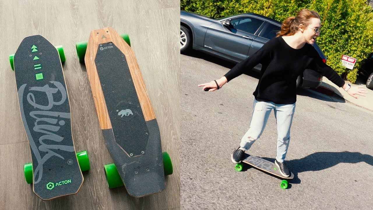 Acton Blink S-R Electric Skateboard, Review Of Acton Blink S-R Electric Skateboard