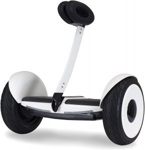 Segway Mini LTE Electric Scooter This upgraded version of segway electric scooter for heavy adults is self balancing. The electric scooter is hands free and it features pneumatic tires. This scooter is compatible with the ninebot app and is ideal for both the outdoors and indoors. The segway scooter is very easy to ride and it has road adaptive design that tackles treacherous roads, slopes, obstacles and debris. Also, this scooter is lightweight and easy to move around. It has a knee control bar that is detachable and can be easily reattached. It can cover a distance of 11 miles in a single charge. Furthermore, it is highly weather-proof as its headlights are customisable. Also, the headlights guarantee maximum safety at night and also during the day. This scooter for heavy adults doesn't require you to spend hours learning to ride it like a professional. In a few minutes, you can learn how to ride your segway scooter and this is all thanks to its intuitive knee control bar. You can bid fatigue goodbye with the scooter's padded handlebars. It provides you with optimum comfort as you ride in style. Is your child 6 and above? Then the segway scooter is just right for him. Children of 6 and also young adults can use this scooter which is perfect for any gender. The scooter can handle a weight of 175 lbs and it also has certifications that eet electrical and fire safety standards.
