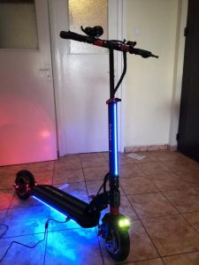 gortax scooter with light