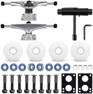 Complete Set Skateboard Trucks with the tool Kit