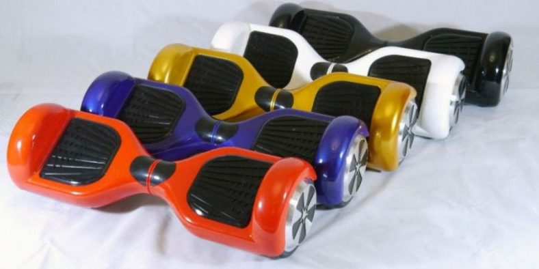 robot turbo hoverboard